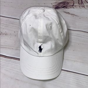 Polo by Ralph Lauren • white hat